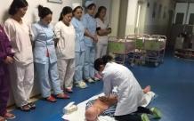 德江县人民医院新生儿科开展心肺复苏操作培训