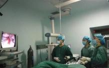德江县人民医院成功开展全市市县级医院首例腹腔镜全子宫+双附件切除术