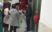 德江县人民医院麻醉手术科开展消防安全应急演练