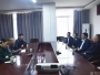 贵州省农村信用社联合社铜仁审计中心到德江县人民医院调研居民健康卡项目建设