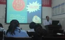 儿科一区:举行手卫生知识讲座