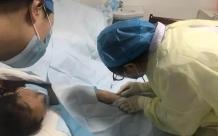 肿瘤科PICC小组成功完成两例经左侧手臂穿刺PICC置管术