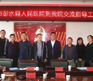 重庆市彭水县人民医院到德医交流医院信息化建设